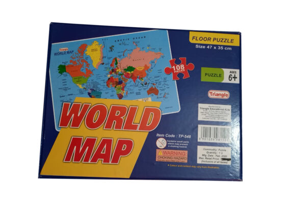 World Map Puzzle Game